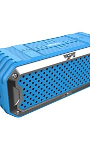S6 Bluetooth högtalare Bluetooth Bluetooth 4.0 3,5 mm AUX USB Utomhushögtalare Subbas Grön Svart Grå Röd Blå