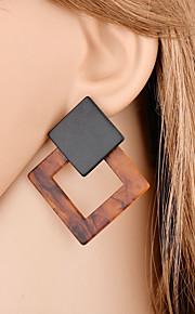 Damskie Kolczyki wiszące Seksowny Modny Akrylowy Stop Geometric Shape Biżuteria Prezent Party Wieczór Biżuteria kostiumowa