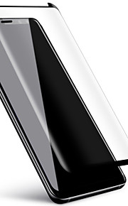 Proteggi Schermo Samsung Galaxy per S9 Vetro temperato 1 pezzo Proteggi-schermo integrale Estremità angolare a 3D Anti-graffi Durezza 9H