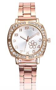 Mulheres Relógio Elegante Relógio de Moda Relógio Casual Chinês Quartzo Relógio Casual Lega Banda Casual Fashion Prata Dourada Ouro Rose