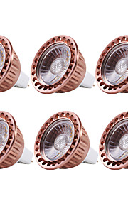 YWXLIGHT® 6pcs 5W 400-500 lm MR16 LED Spotlight 1 leds COB Dimmable Decorative Warm White Cold White DC 12V AC 12V