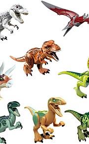 Original Jurassic World Tyrannosaurus Building Blocks Jurrassic Park Interlocking Blocks Toy Toys Dinosaur Animals Classic 8pcs Pieces