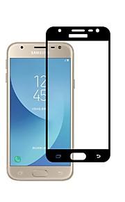 Proteggi Schermo Samsung Galaxy per J3 (2017) Vetro temperato 1 pezzo Proteggi-schermo frontale Estremità angolare a 3D Estremità