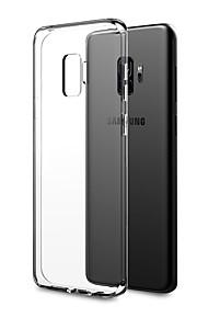 Kılıf Na Samsung Galaxy S9 Plus / S9 Ultra cienkie / Przezroczysta obudowa Osłona tylna Solidne kolory Miękka TPU na S9 / S9 Plus / S8 Plus