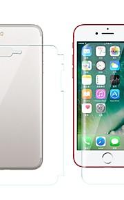 Skærmbeskytter Apple for iPhone 8 Plus TPU Hydrogel 2 Stk. Front- og rygbeskyttelse Anti-fingeraftryk Ridsnings-Sikker High Definition