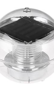 HKV 1pç 1W Lâmpada Subaquática Solar Impermeável Iluminação Externa RGB DC3.7V