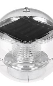 HKV 1pc 1W Undervannslys Solar Vanntett Utendørsbelysning RGB DC3.7V
