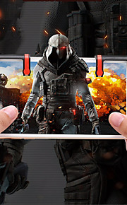 Game Controllers Til Android / iOS Bærbar Game Controllers ABS 2pcs enhet