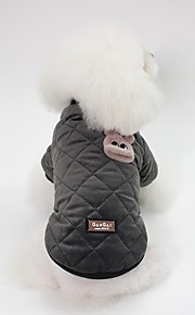 Dogs Jacket Dog Clothes Character / Rabbit / Bunny Pink / Black Cotton Costume For Pets Unisex Sweet Style / Warm Ups