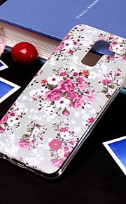 Case For Samsung Galaxy J7 (2017) / J5 (2017) IMD / Translucent Back Cover Flower Soft TPU for J8 (2018) / J7 (2017) / J7 (2018)