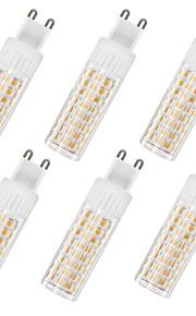 6pcs 7.5 W 937 lm G9 Bombillas LED de Mazorca T 100 Cuentas LED SMD 2835 Blanco Cálido / Blanco Fresco 85-265 V