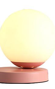Contemporaneo moderno Romantico / Adorabile Lampada da tavolo / Lampada da scrivania Per Salotto / Al Coperto Metallo 110-120V / 220-240V Rosa / Giallo / Grigio