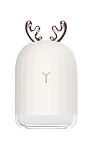 BRELONG® 1pc Luz de noche LED RGB USB Adecuadas para Vehículos / Color variable / Creativo 5 V