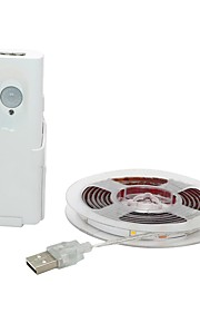 BRELONG® 1m Tiras LED Flexibles 30 LED Blanco Cálido Impermeable / USB / Nuevo diseño Alimentado por USB 1pc