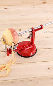3 σε 1 αποφλοιωτής μήλου από ανοξείδωτο χάλυβα αποφλοιωτής φρούτων μηχανή κοπής σε φέτες μηλός μήλο αποφλοιωμένο δημιουργικό εργαλείο κοπής κουζίνας