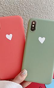 tok Για Apple iPhone XR / iPhone XS Max Με σχέδια Πίσω Κάλυμμα Καρδιά Μαλακή TPU για iPhone XS / iPhone XR / iPhone XS Max