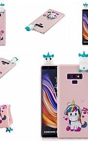 tok Για Samsung Galaxy Note 9 / Note 8 Με σχέδια Πίσω Κάλυμμα Ζώο / Κινούμενα σχέδια Μαλακή TPU για Note 9 / Note 8