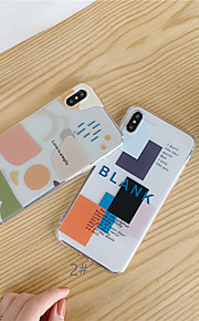 tok Για Apple iPhone XR / iPhone XS Max Διαφανής / Με σχέδια Πίσω Κάλυμμα Γεωμετρικά σχήματα Μαλακή TPU για iPhone XS / iPhone XR / iPhone XS Max