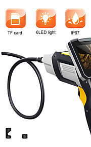 ψηφιακό ενδοσκόπιο 1m αγωγός φιδιών βιομηχανικό ενδοσκόπιο 4.3 ιντσών lcd βοροσκόπιο βίντεοcope με αισθητήρα cmos ημι-άκαμπτο κάμερα επιθεώρησης χειρός ενδοσκόπιο