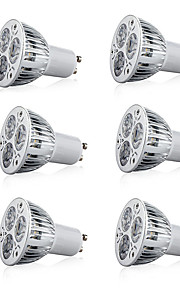 9 W LED Σποτάκια 600 lm E14 GU10 GU5.3 GU10 3 LED χάντρες LED Υψηλης Ισχύος Διακοσμητικό Θερμό Λευκό Ψυχρό Λευκό 85-265 V, 6pcs