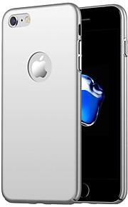 Кейс для Назначение Apple iPhone X / iPhone 8 Plus Защита от удара Кейс на заднюю панель Однотонный Твердый ПК для iPhone X / iPhone 8 Pluss / iPhone 8