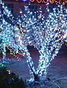 10m 6w 할로윈 축제 장식 (110 / 220v)에 대 한 100 주도 하얀 빛 빛 문자열 램프