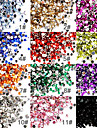 50 Manucure De oration strass Perles Maquillage cosmetique Nail Art Design