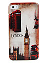 Protective Polycarbonate Case for iPhone 4 and 4S (Big Ben Pattern)