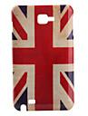 Antique UK Flag Pattern Protective Case for Samsung Note i9220