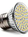 3.5W 300-350lm E26 / E27 Точечное LED освещение PAR38 60 Светодиодные бусины SMD 3528 Тёплый белый 220-240V