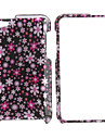 Small Flowers Style Full Body Protective Case for iPod Touch 4 (Pink)