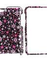 малый стиль цветы все тело защитный чехол для Ipod Touch 4 (розовый)