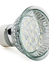 1.5W 60-80 lm GU10 LED Spotlight MR16 18 leds High Power LED Warm White AC 220-240V