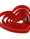 Bakeware tools Plastic Eco-friendly / Valentine\'s Day / DIY For Cake / For Cookie / For Pie Mold 6pcs