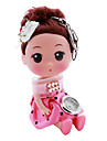 enfants poupées de style en alliage à quartz analogique trousseau montre (rose)