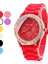 Women's Plastic Analog Quartz Wrist Watch (Assorted Colors) Cool Watches Unique Watches