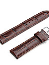 Unisex Genuine Leather Watch Strap 22MM(Brown) Cool Watch Unique Watch Fashion Watch