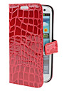 Crocodile Pattern PU Leather Case with Stand for Samsung Galaxy S3 I9300