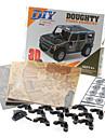 57 조각 DIY 3D 퍼즐 대담한 SUV (5 어려움 4)