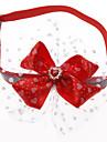 Chat / Chien Bandanas & Chapeaux Vêtements pour Chien Nœud papillon Térylène Costume Pour les animaux domestiques Eté Femme