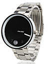 Men's Steel Analog Quartz Wrist Watch (Silver) Cool Watch Unique Watch