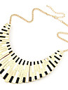 Women's Shape Fashion European Punk Choker Necklace Collar Necklace Shell Alloy Choker Necklace Collar Necklace Party Daily