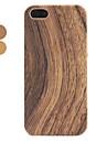cas en bois dur pour l'iphone 5/5s surface (couleurs assorties)