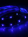Impermeável 30 centímetros 12-LED azul LED Light Strip (12V)