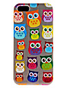For iPhone 5 Case Ultra-thin Case Back Cover Case Owl Hard PC iPhone SE/5s/5
