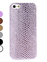 Snakeskin Style Hard Case for iPhone 5/5S (Assorted Colors)