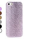 아이폰 5/5S (분류 된 색깔)를위한 뱀 스타일의 하드 케이스
