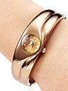 Montre Femme Quartz Bracelet en alliage analogique (Bronze)