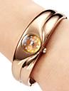 Women's Quartz Alloy Analog Bracelet Watch (Bronze)