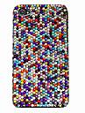 diamantes coloridos Hard Case para iPhone 4/4S